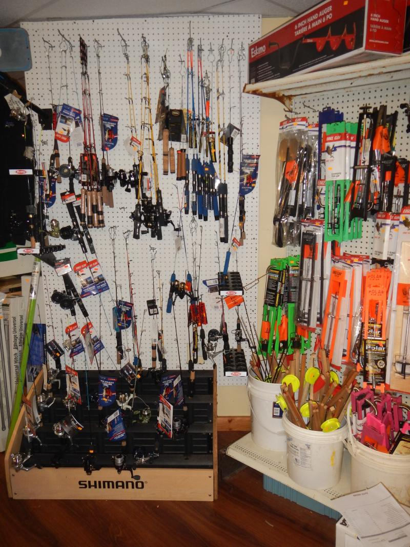A J 's Bait and Tackle - Ice Fishing